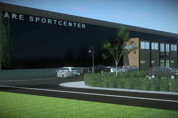 Åre Sportcenter Illustration