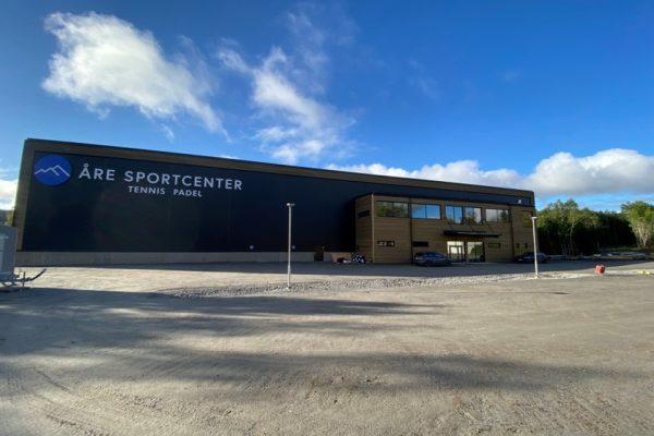 Åre Sportcenter från utsidan
