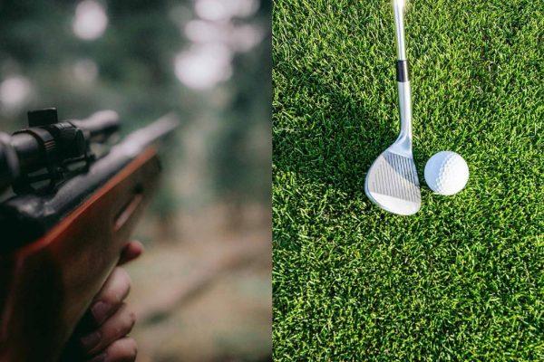 Boka golf och jaktsimulatorer hos Åre Sportcenter